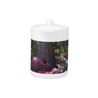 Forest and Flowers Tea Pot