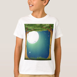 Forest and fullmoon T-Shirt