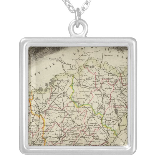 Forest and Landscapes Silver Plated Necklace
