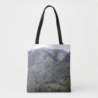 Forest and Mountains Tote Bag