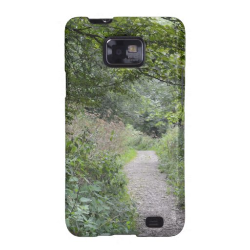 Forest and the foot path samsung galaxy s2 cases