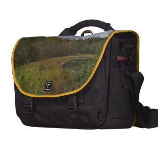 forest and tree laptop computer bag