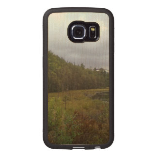 forest and tree wood phone case