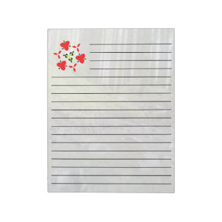 Forest and water note pad