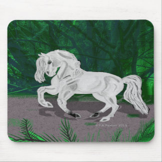 Forest Andalusian Horse Mousepad