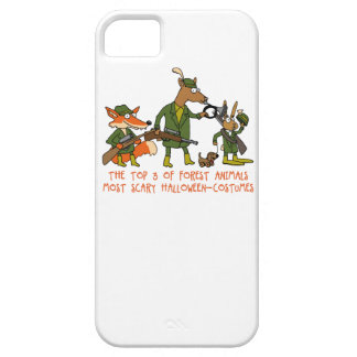 forest animal halloween iPhone SE/5/5s case