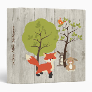 Forest Animals Baby Album Binder