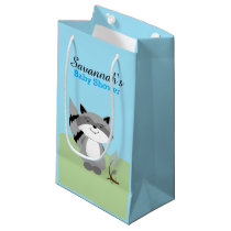 Forest Animals Fox and Raccoon Gift Bag