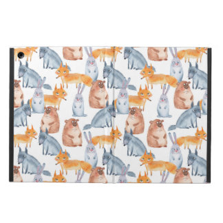 Forest animals. Watercolor iPad Air Covers