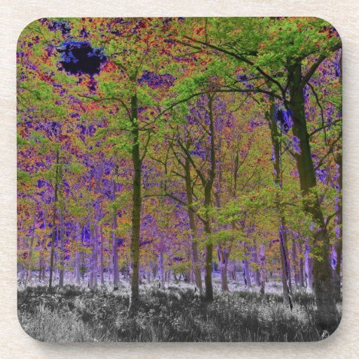 Forest Art Drink Coasters