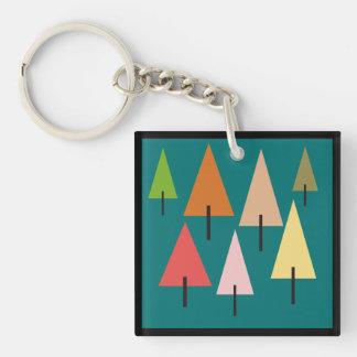 Forest Artistic Impression Keychain