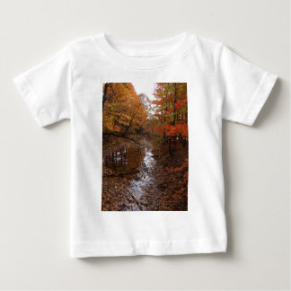FOREST AT AUTOMN WITH WATER BABY T-Shirt