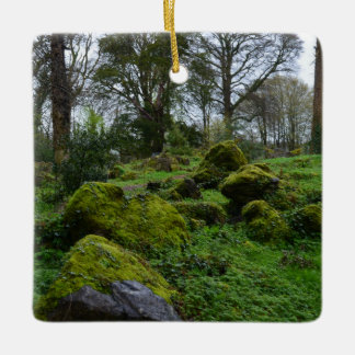 Forest at Blarney Castle Ceramic Ornament