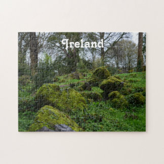 Forest at Blarney Castle Jigsaw Puzzle