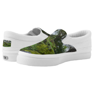 Forest at Blarney Castle Slip-On Sneakers