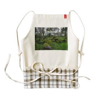 Forest at Blarney Castle Zazzle HEART Apron