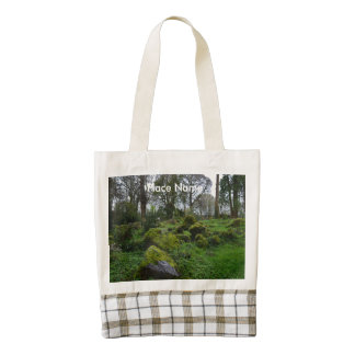 Forest at Blarney Castle Zazzle HEART Tote Bag