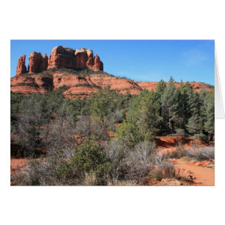 Forest at Cathedral Rock Card