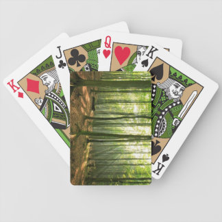 Forest at Morning Playing Cards