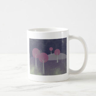 Forest At Night Coffee Mugs