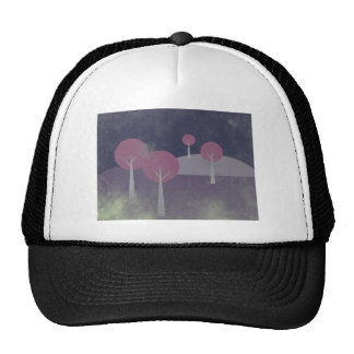 Forest At Night Trucker Hat