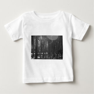 Forest at Sholom Park in Black and White Baby T-Shirt