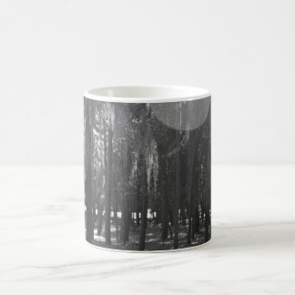 Forest at Sholom Park in Black and White Coffee Mug