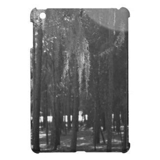 Forest at Sholom Park in Black and White iPad Mini Cover