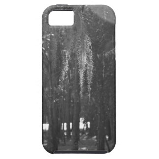 Forest at Sholom Park in Black and White iPhone SE/5/5s Case