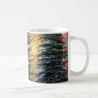 Forest Autumn Trees on a Sunny Day Coffee Mug