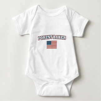 Forest Baker for America Baby Bodysuit