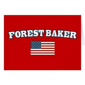 Forest Baker for America Card