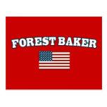Forest Baker for America Post Cards