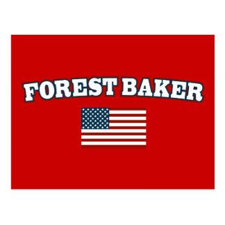 Forest Baker for America Postcard