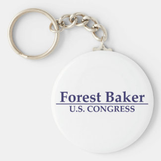 Forest Baker for U.S. Congress Keychain
