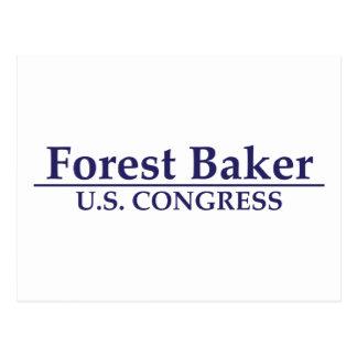 Forest Baker for U.S. Congress Postcard