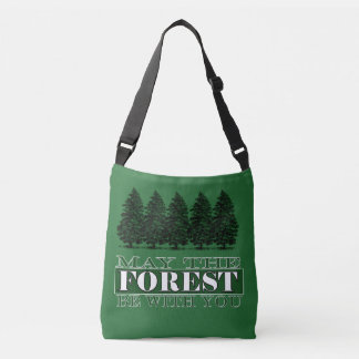 Forest Be With You Funny Tote Bag