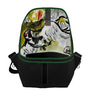 Forest Bird cape bag