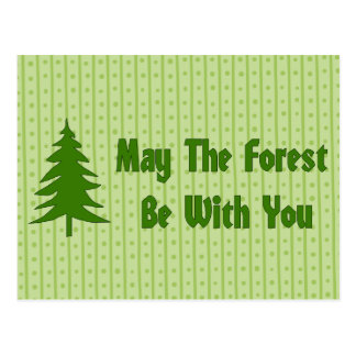 Forest Blessing Postcard
