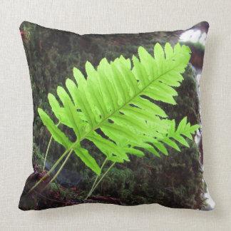Forest Bliss Throw Pillow