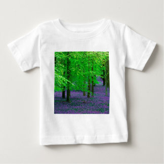 Forest Blue Bells Beech Trees England Baby T-Shirt