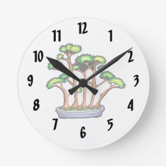 forest bonsai planting graphic.png round clock