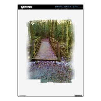 Forest Bridge iPad 3 Skin