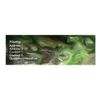 forest brook 2 Double-Sided mini business cards (Pack of 20)