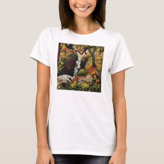 Forest Brook by August Macke Vintage Expressionism T-Shirt
