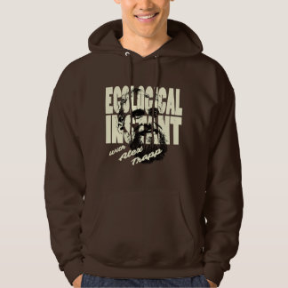 Forest Brown Ecological Instant Hoodie