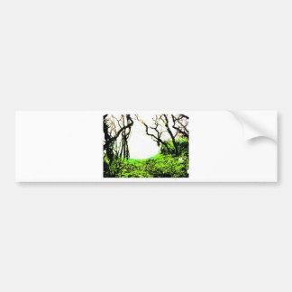 Forest Car Bumper Sticker