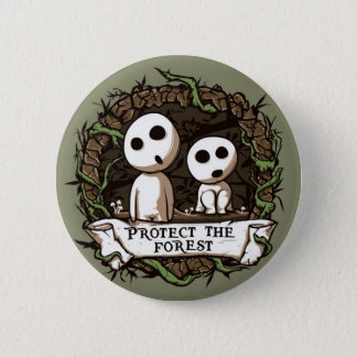 Forest Button! Pinback Button