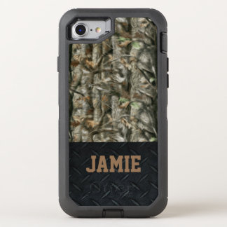 Forest Camo and Black Diamond Plate Case