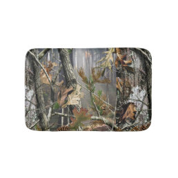 Forest Camo Bath Mat